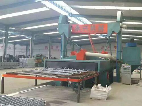 H型钢通过式抛丸机